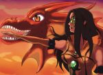 eimi and dragon by Guardianancestral
