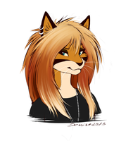 New hairs! by SilverDeni