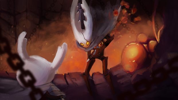 Hollow Knight by Dagmell