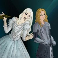 Alice and the White Queen by FemFishTherein5