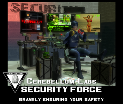 The Security Force! by Zombuffalo