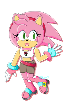 Art Trade - Arianna The Hedgehog by Brisa-The-Fox