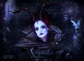 The vampire woman by annemaria48