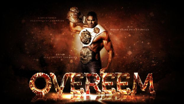 Overeem by Photopops