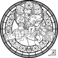 Stained Glass Vanellope Animated By Akili Amethyst On Deviantart
