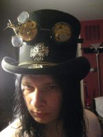New Goggles and Top Hat by taintedscars