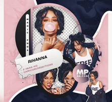 PACK PNG 806|RIHANNA by MAGIC-PNGS