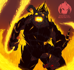 Nexus Clash: Infernal Behemoth by AkitheFrivolicious