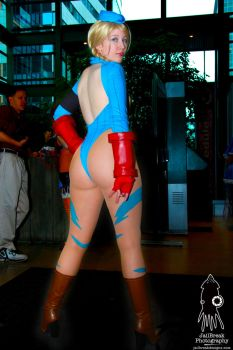 Cammy Victory Pose by JailBreakDesigns