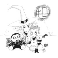 Lock, Shock and Barrel by trickortreaters