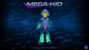Mega Kid by AnutDraws