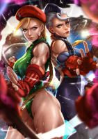 V-Trigger Cammy x Decapre by magion02