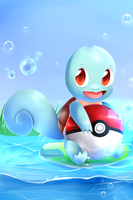 Squirtle by SkywaySky