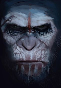 FanArt  Dawn of the planet of the apes by Anthony-g09