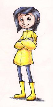 Coraline by AtomicRay