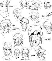 Faces everywhere by Angelo-XD