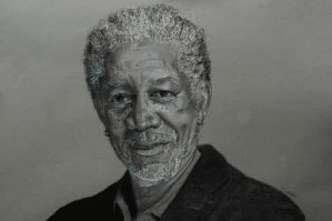 Morgan Freeman by Ed-Head73