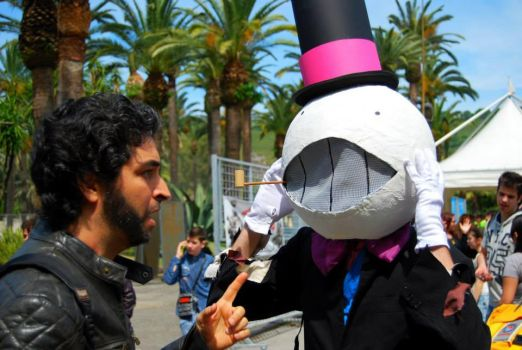 Turnip Head Cosplay - Naples Comicon 2015 by Skrocco