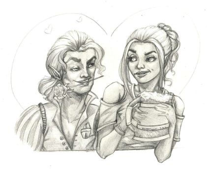 Scanlan  and Pike by AhrrieArt
