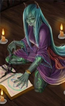 Witch named Hag by M1karu