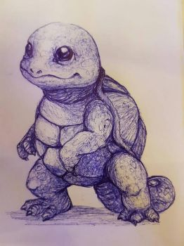 squirtle by dinokatze