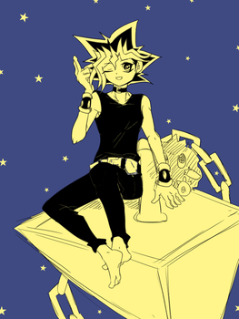 yugi by silverunu