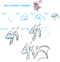 How to draw a dragon by dragonmagic94