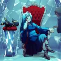 Commission: Icicleflower Icewind by Mikeinel