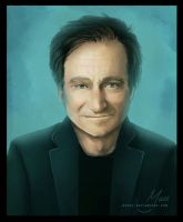 Robin Williams / gone too soon by MYuee