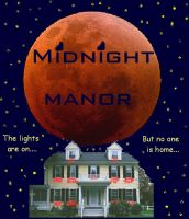 Midnight Manor Book Cover by WiltedxBlackxRose