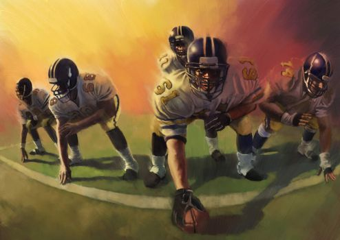 American Football by SS-Cheong