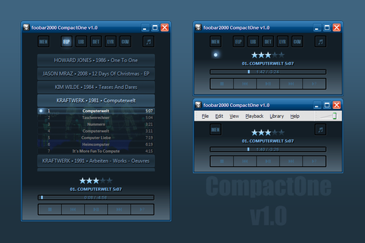 CompactOne v1.0.1 by tedgo