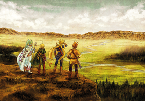 Golden Sun - Fields of Angara by neshirys