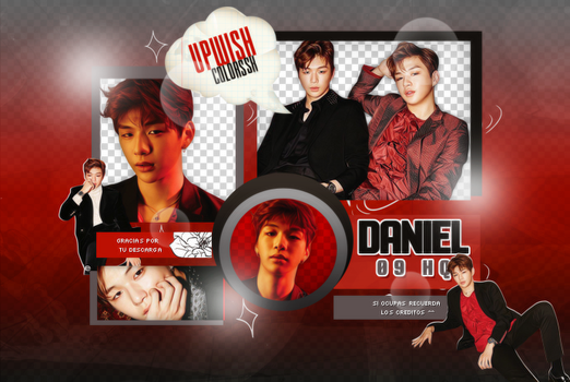 KANG DANIEL PNG PACK#1|WANNA ONE by UpWishColorssx