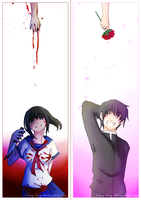 Two Different Worlds - Yandere simulator by L-Hay-Ling