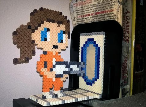 Chell Bookend by TripalSpiraL