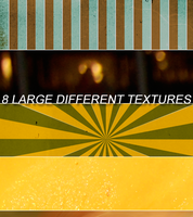 8 large different textures by Kiho-chan