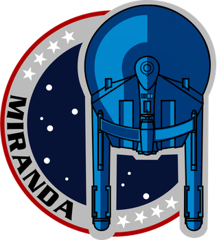 USS Miranda Mission Patch NX-01 Style by viperaviator