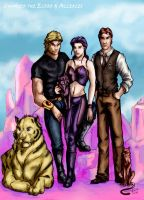 The Cat People by AllerleiArt