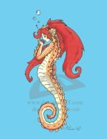 sea horse by chester-cat