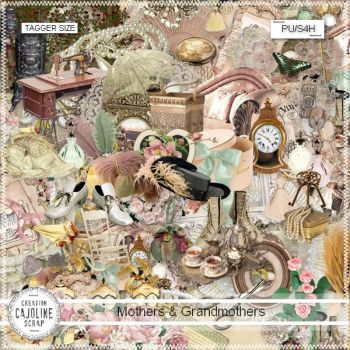 Kit Mothers and Grandmothers ... VINTAGE ! by cajoline-scrap
