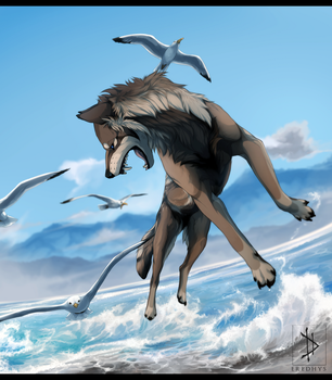 Wild and Free - Commission. by Eredhys