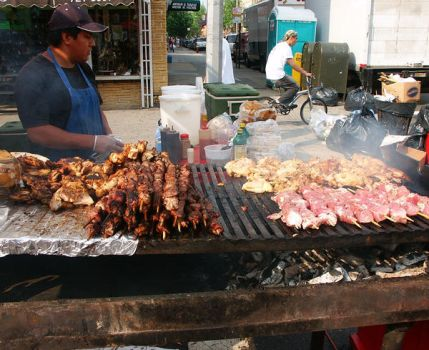 Street Fair: At the Grill by HarrisGraber