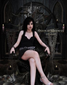 Queen of Darkness by kuclux123