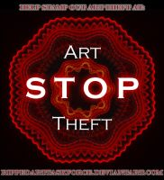 Stop Art Theft by LonesomeFaery