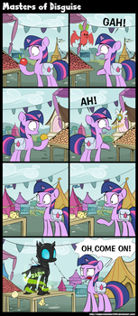 Masters of Disguise by SubjectNumber2394