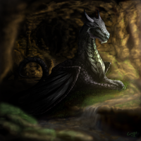 Dragon's Den by Gingy1380