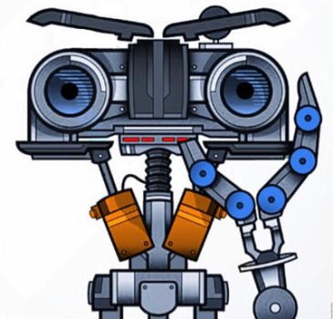 Johnny Five art by Jayluke2006