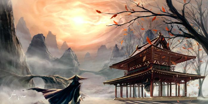 Temple of the Sun by fxEVo