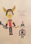 Ratchet and Clank by DylanRosales